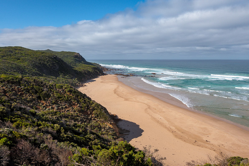 Australia-Cape Otway-Twelve Apostles-Port Campbell - And the view the other way.