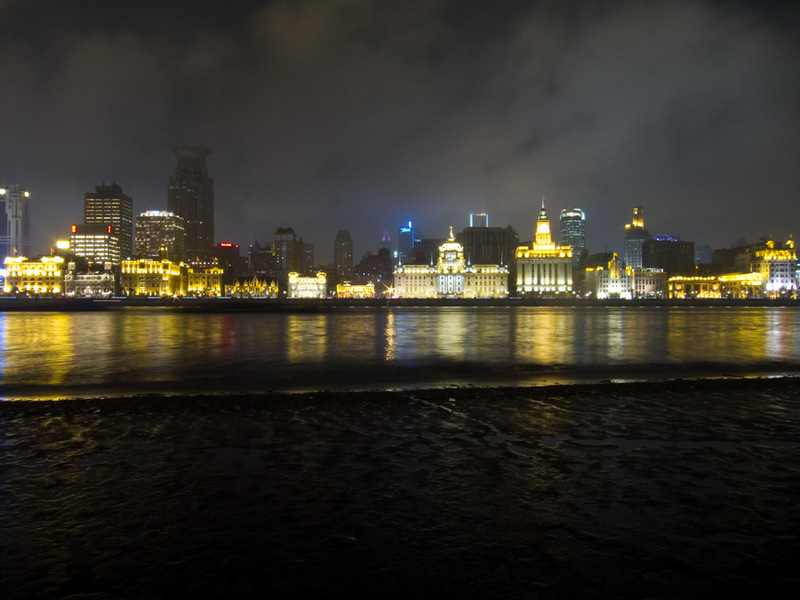 China-Shanghai-Pudong-Beef-Neon - More Bund....also, Photo number 100!