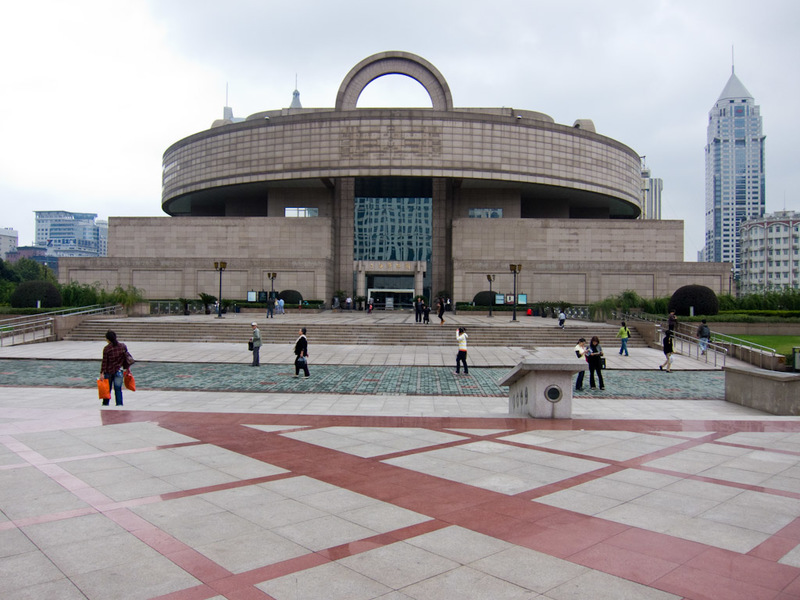 China-Shanghai-Xintandi-Museum - The Shanghai museum. Its free and well organised, with English signage. It is however mostly pottery and calligraphy. No swords, definitely no dinosau