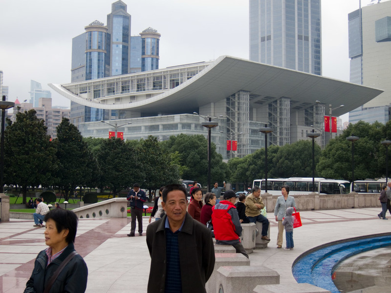 China-Shanghai-Xintandi-Museum - I think this is the nearby art gallery, but I am not totally sure.