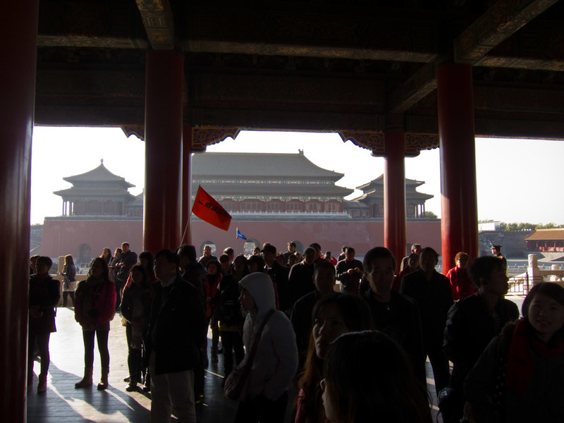 China-Beijing-Forbidden City - Brace yourself for a few pictures of tourist stuff.