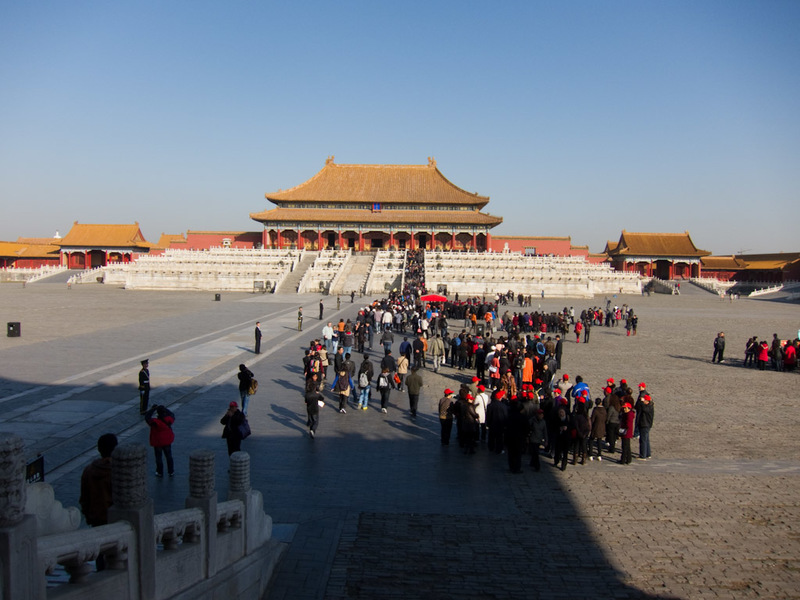 China-Beijing-Forbidden City - The forbidden city