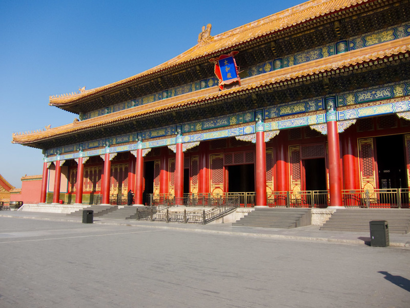 China-Beijing-Forbidden City - It was last rebuilt around 1400, so its not particularly old.