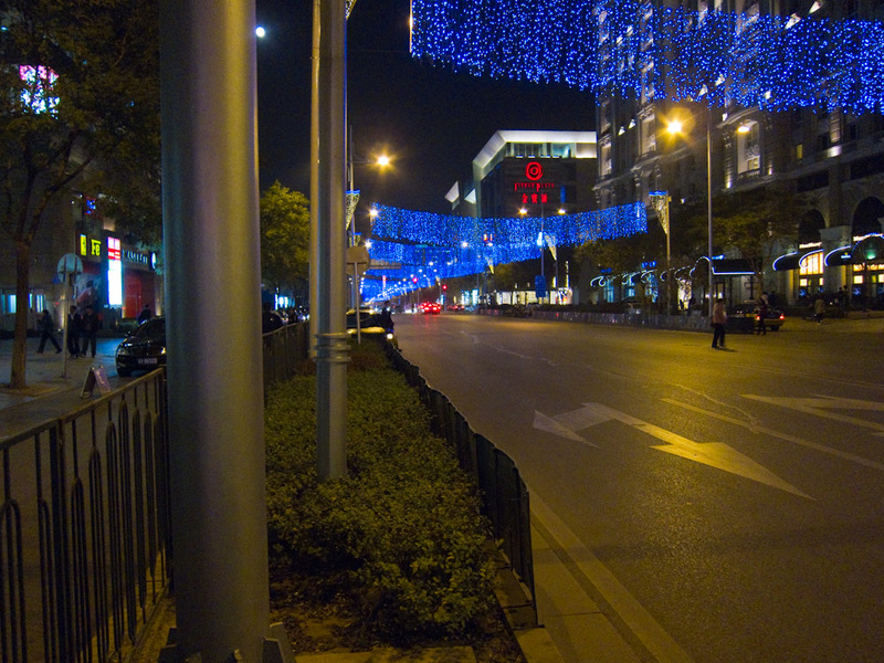 China-Beijing-Station-Dumplings - Blue light street had many car dealerships, including not just the car makers but the European tuners like AC Schnitzer and Ruf. There were also some