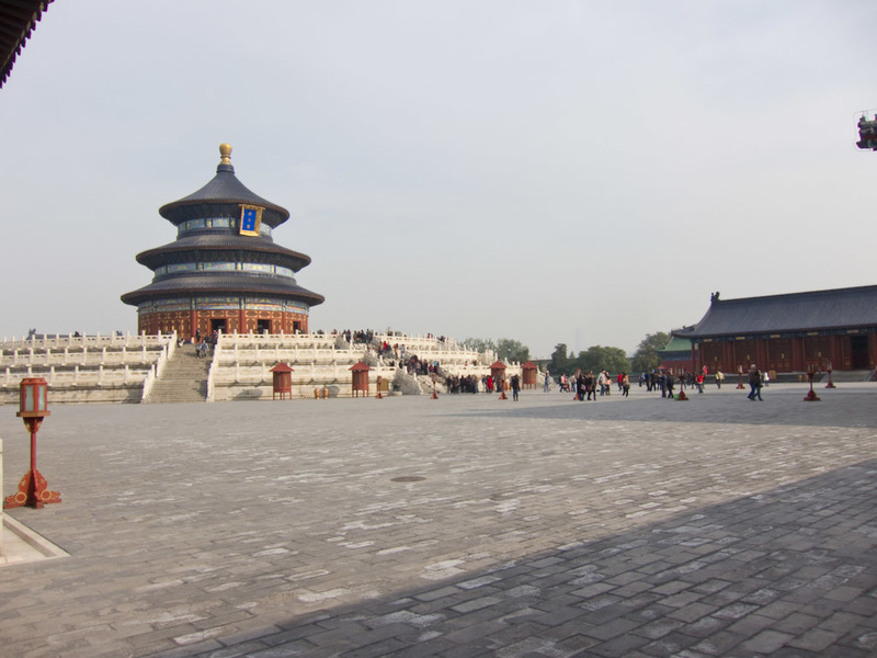 China-Beijing-Temple of Heaven - The main temple.