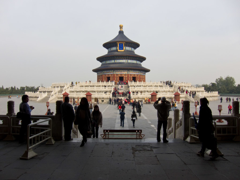 China-Beijing-Temple of Heaven - More temple.