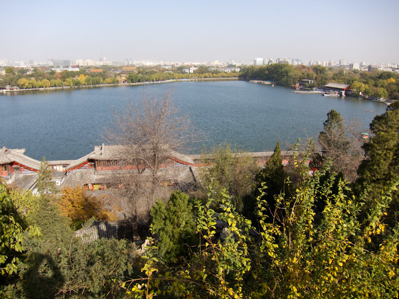 China-Beijing-Military-Museum-Beihai Park - The view from the top.