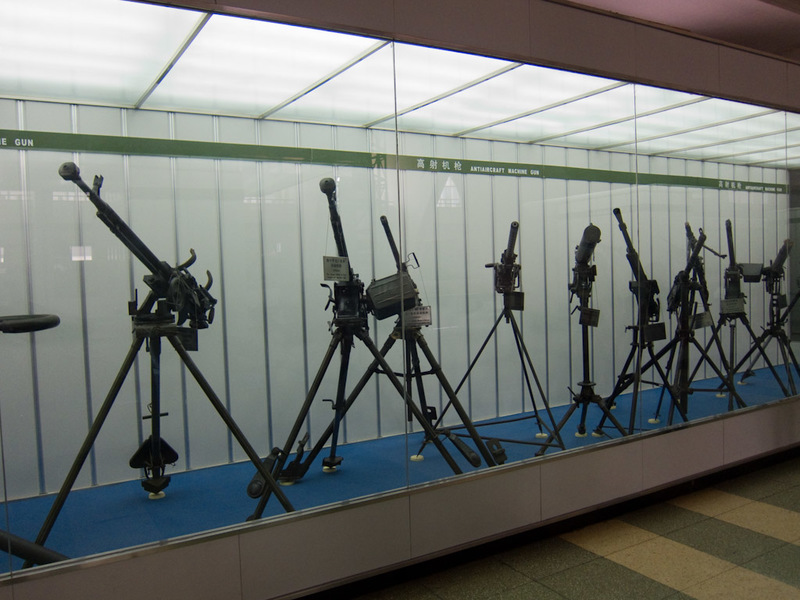 China-Beijing-Military-Museum-Beihai Park - Anti aircraft machine guns. I could have taken a lot more photos of the museum, but I know people find them boring.