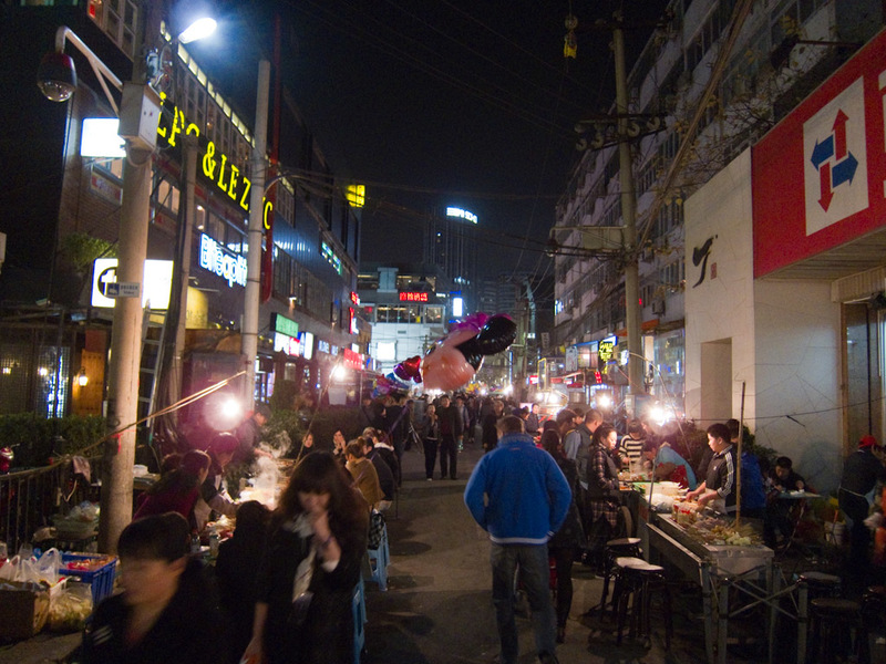 China-Beijing-Sanlitun-Beef - Its old, its dirty, its seedy, its packed.