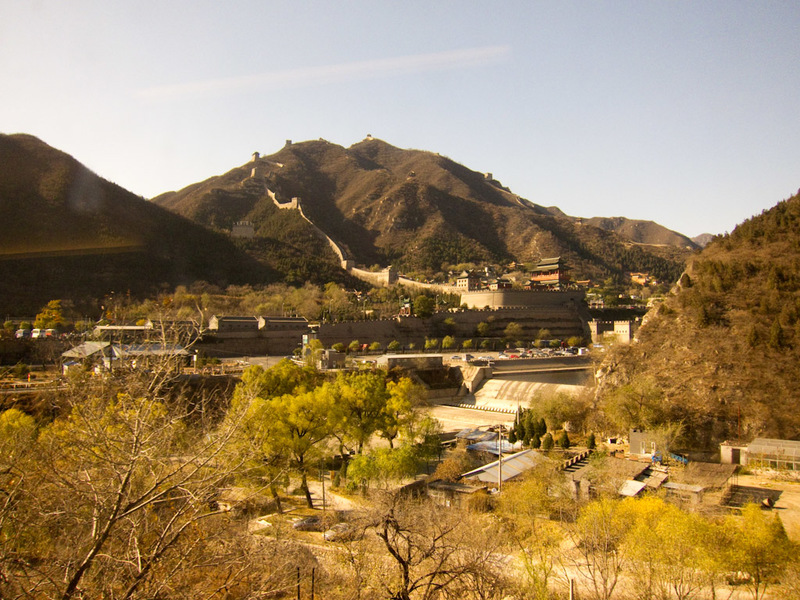 China-Badaling-Great Wall-Train - Going to the great wall