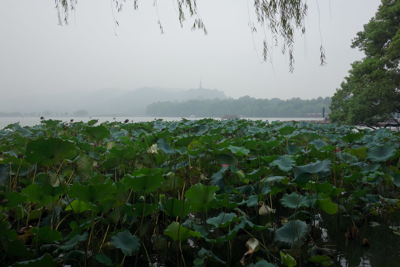 China-Hangzhou-West Lake-Fog - There are certain places you are encouraged to appreciate the view, all with poetic names like 'the autumn moon descends slowly through the everlastin