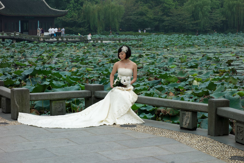 China-Hangzhou-West Lake-Fog - I am not afraid to photograph someone elses wedding. If you are going to have your photo taken in one of the worlds most photographed locations, you s