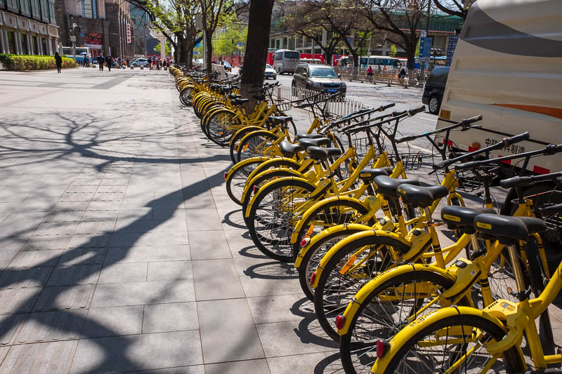 China-Beijing-Wangfujing-Sunshine - If you live in Australia you are familiar with obikes and their competitors, if you live in the rest of the world you have seen the news stories about