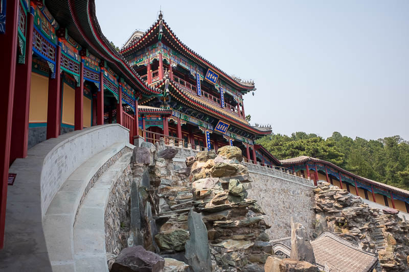 China-Beijing-Fragrant Hills-Hiking - The bee filled mountain of many amenities