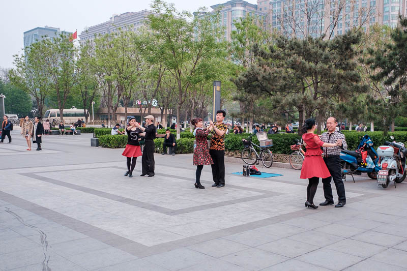 China-Beijing-Food-Architecture - The formal ballroom dancers have arrived. I cut in and took the next dance, it was my lucky day, the foxtrot. I excel at the foxtrot.