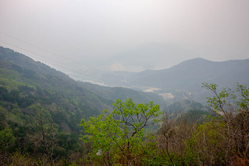 China-Beijing-Mangshan-Hiking-Bus - I heard a rumor that the view is great on a clear day.