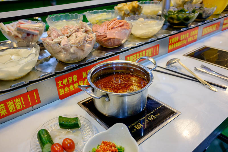 China-Zhengzhou-Food-Erqi Square - I found the only place suitable for solo diners as mentioned above, it just happens to be the same as I had last night, which just happens to be delic