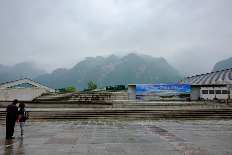 China-Hiking-Rain-Huashan-Soldiers Path - Here, have another. They certainly look like spectacular mountains.