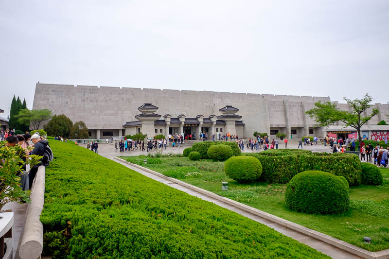 China-Xian-Terracotta Army - The grounds were very nice, and like all AAAAA Chinese tourist attraction zones, spotless. I was also surprised at the cafe, I was able to buy a delic