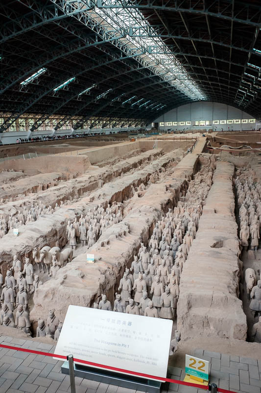 China-Xian-Terracotta Army - Last one! I hope you got to see enough of one of the most photographed tourist attractions in the world.