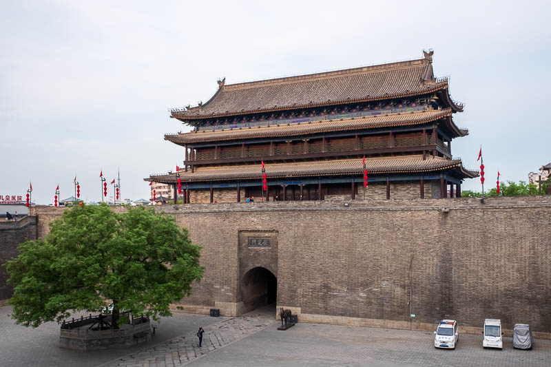 China-Xian-City Wall-Hiking-Dumplings - Here is the western gate. You will soon realise the gates are similar.