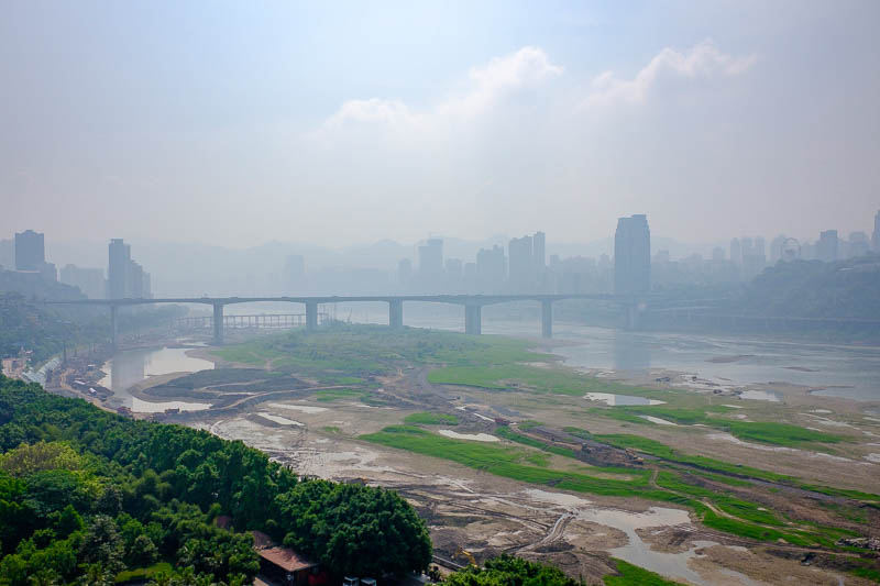 China-Chongqing-View-Erling Park-Testbed 2 - It looks like the end of the world, yet somehow awesome.