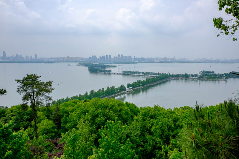 China-Wuhan-East Lake-View - I had walked all the way along there, and had a great time doing it. If you told me to do it again tomorrow, I would be happy. I already have my plan