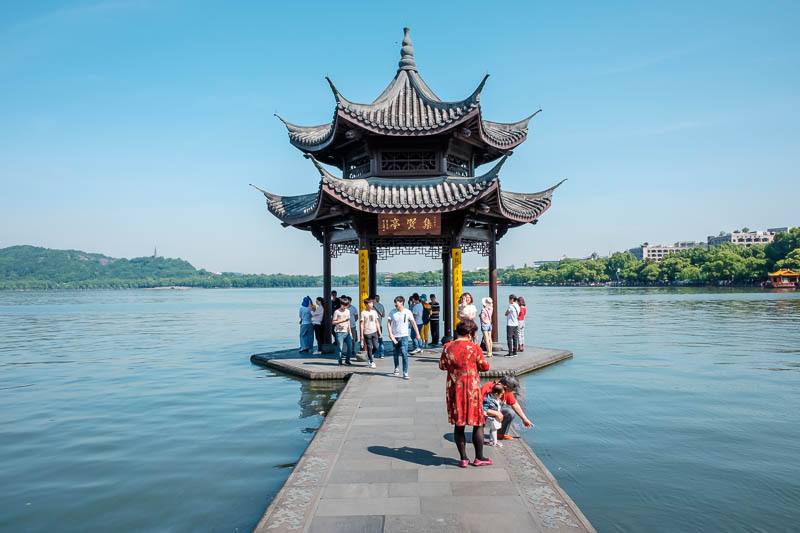 China-Hangzhou-West Lake-Hiking - Lap completed