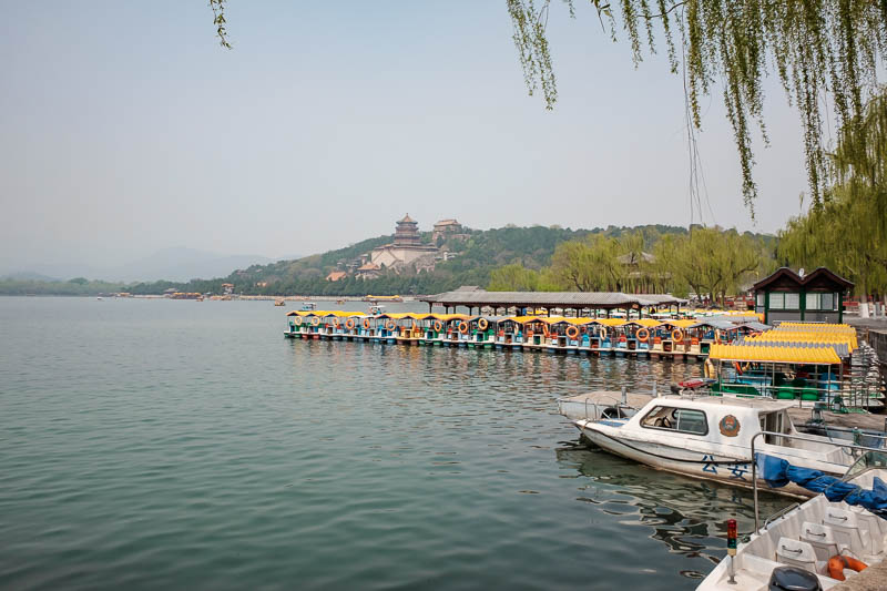 China-Beijing-Summer Palace - Instead of going to the palace, I went the other way, because I am a fool, and walked the entire perimeter of the lake. I am always securing the perim