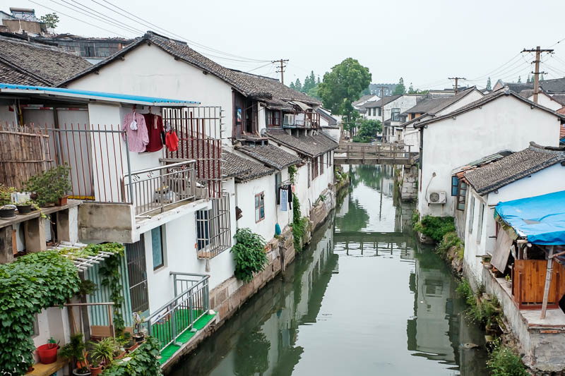 China-Shanghai-Zhujiajiao-Parrot - Last photo of water town, I would imagine it would be much nicer on a sunny day.