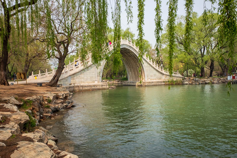China-Beijing-Summer Palace - Another bridge, most of them were built in the 1700's.
