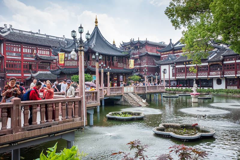 China-Shanghai-Park-Yuyuan Garden - I got to this point and realised this was as far as I had got on previous visits. You have to pay to continue beyond this point, today I paid!