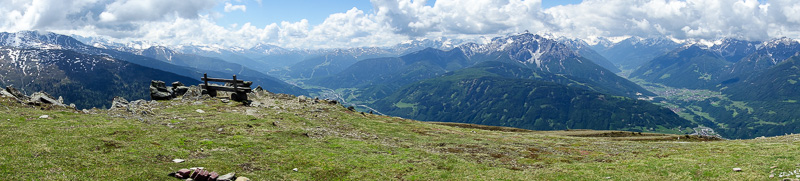 Austria-Innsbruck-Hiking-Patscherkofel - The back side of the mountain.