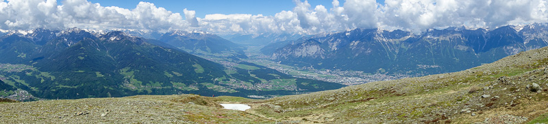 Austria-Innsbruck-Hiking-Patscherkofel - More backside.