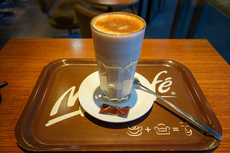 Austria-Innsbruck-Casino - I am not ashamed to say I went to the train station specifically to get a skim milk chai latte from the mccafe, which is open until midnight!