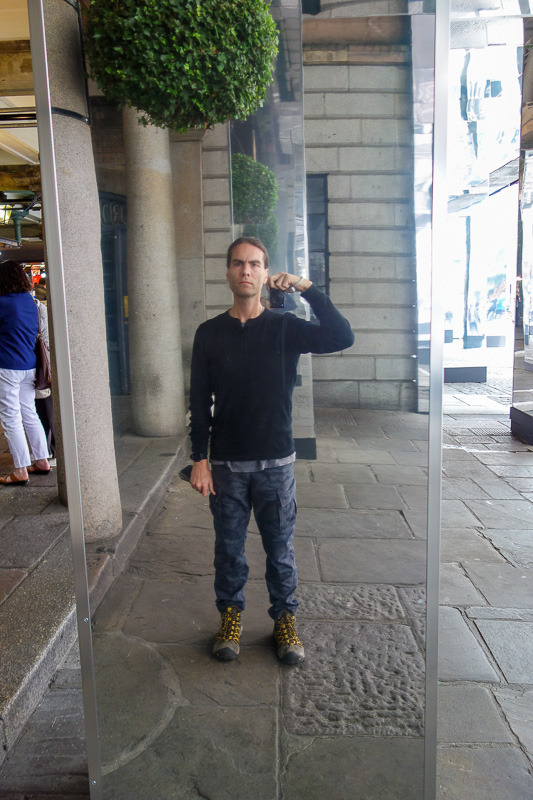 England-London-Tower Bridge-Burrough Market - Me, upon reflection.