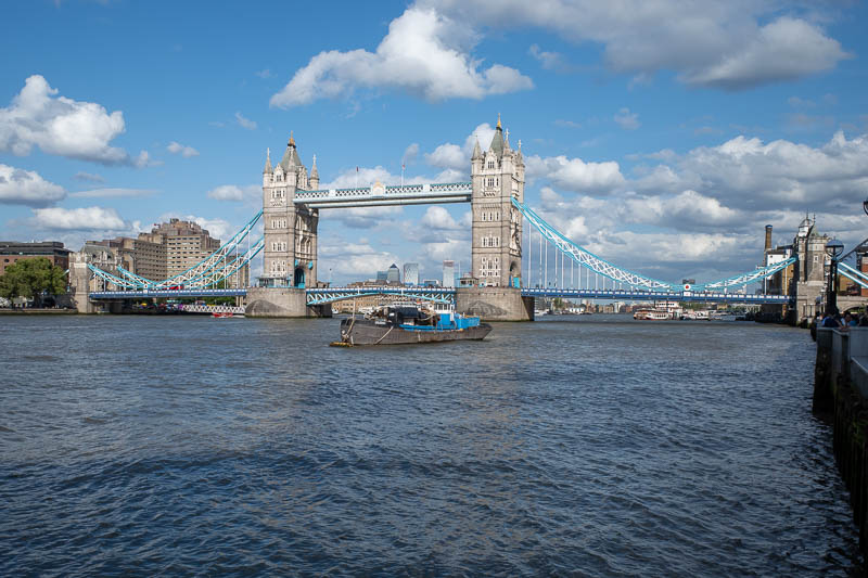 England-London-Tower Bridge - The other Southbank