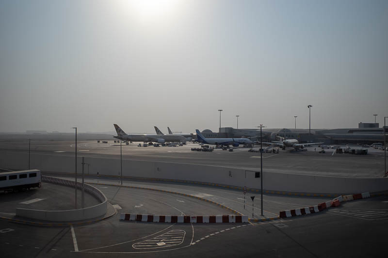 Abu Dhabi-Airport-Lounge - The shortest update