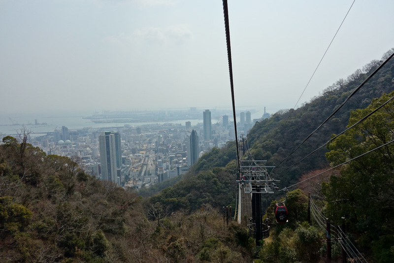 Japan-Kobe-Hiking-Garden-Takaoyama - More view. City still standing, no sign of Godzilla.