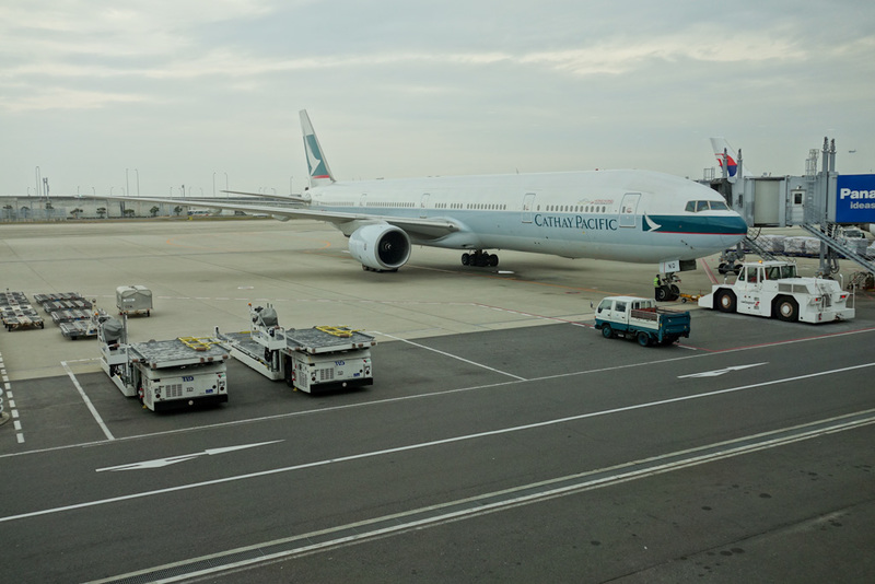 Osaka-Taoyuan-Taichung-Airport-Boeing 777 - Multiple modes of transport