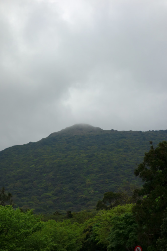 Taiwan-Taipei-Hiking-Yangmingshan - I think I am going up there. It doesnt look very far.