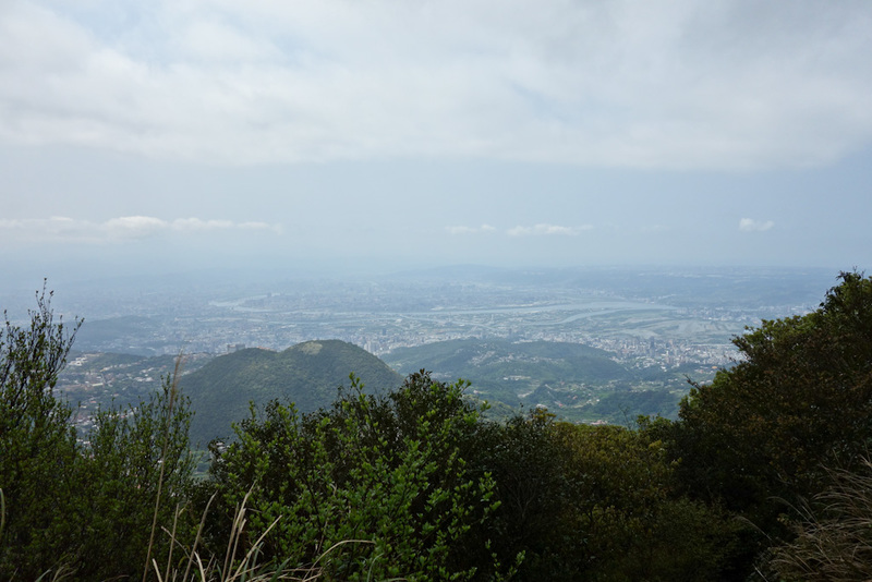 Taiwan-Taipei-Hiking-Yangmingshan - About half way up, I thought I better take this in case it was cloudy up higher.