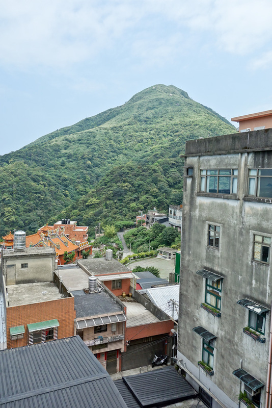 Taiwan-Ruifang-Jiufen-Hiking-Keelung Mountain - My goal, once I have explored the old streets of the town.