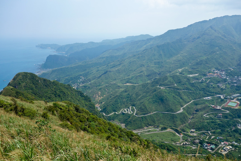 Taiwan-Ruifang-Jiufen-Hiking-Keelung Mountain - By the seaside