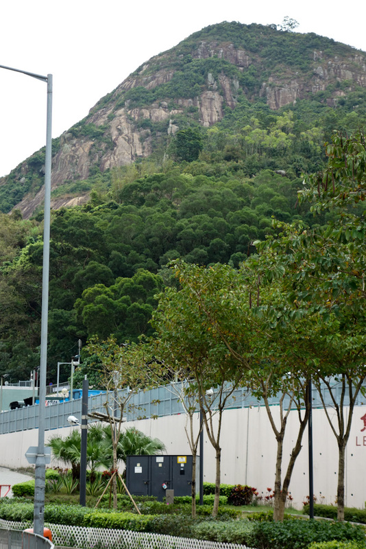 Hong Kong-Hiking-Tin Ha Shan - The top of this is where I am going.