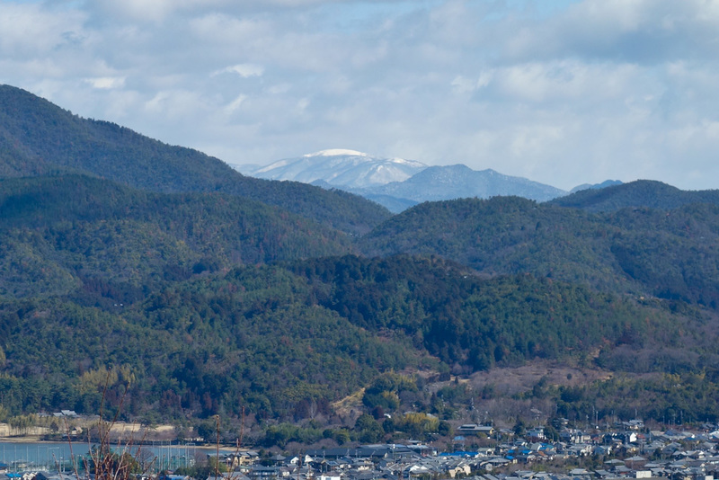 Japan-Kyoto-Arashiyama-Hiking-Bamboo-Monkeys - Whats this I see in the distance? A snow capped peak! Further investigation required.