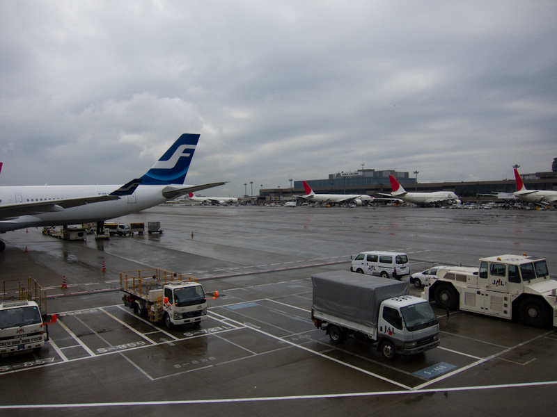 Japan-Tokyo-Narita-Airport-Lounge - The lounges all have a good view of aircraft operations.