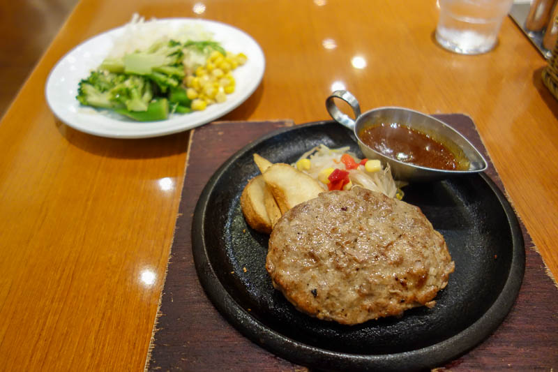 Japan-Tokyo-Mall-Koshigaya-Aeon Lake - My lunch was bad, and looks nothing like the picture. I was convinced to purchase due to the all you can eat salad bar. The salad bar had various form