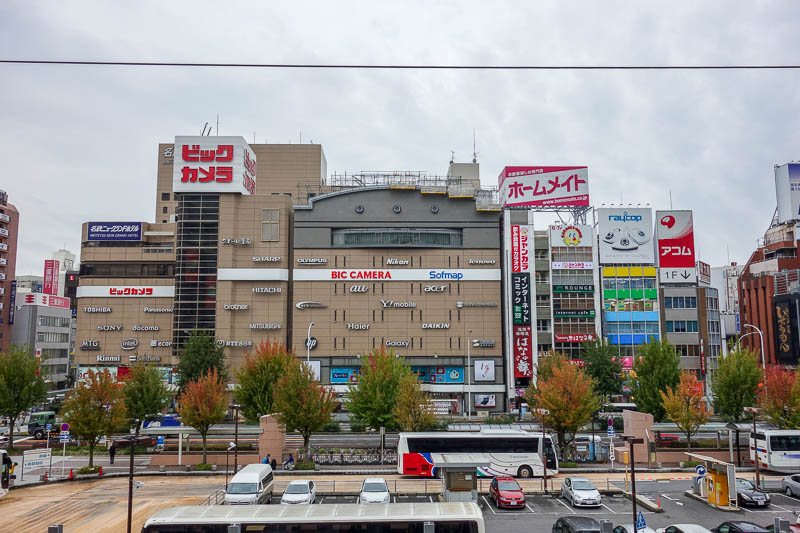 Japan-Tokyo-Nagoya-Shinkansen - The view from Nagoya station, looks a lot like Japan.