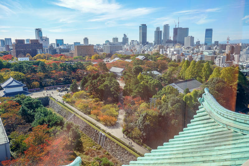 Japan-Nagoya-Castle-Curry-Flowers - Osaka castle - Nagoya branch